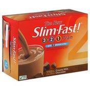 SlimFast Shakes, Creamy Milk Chocolate
