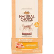 NUTRO Natural Choice + Weight Loss Chicken & Whole Brown Rice Formula Cat Food