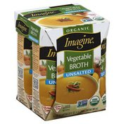 Imagine Foods Broth, Unsalted, Vegetable