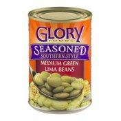 Glory Foods Seasoned Medium Green Lima Beans