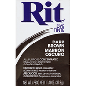 Rit Dye, Dark Brown