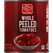 Harris Teeter Tomatoes, Whole Peeled