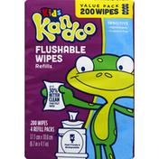 Kandoo Flushable Wipes Refills