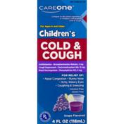 CareOne Children's Cold & Cough Grape