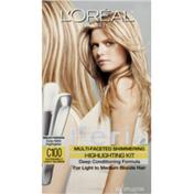 Feria Multi-Faceted Shimmering Highlighting Kit, Extremely Light Blonde C100