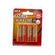Homeline Aa Alkaline Batteries