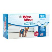 Four Paws Wee-Wee Disposable Diaper Liner Pads