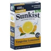Sunkist Drink Mix, Low Calorie, Tangerine Lemonade