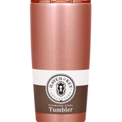 Haven & Key Tumbler, Stainless Steel, Rose Gold, 20 Ounce