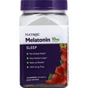 Natrol Melatonin, Sleep, 10 mg, Gummies, Strawberry