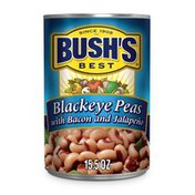 Bush's Best Blackeye Peas with Bacon & Jalapeno