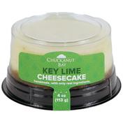 Chuckanut Bay Foods Key Lime Mini Cheesecake