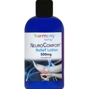 Harmony Hemp Relief Lotion, Cannabinoids, 500 mg