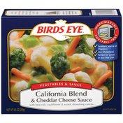 Birds Eye & Cheddar Cheese Sauce California Blend