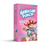 Hawaiian Punch Drink Mix Packets, Sugar Free, Lemon Berry Squeeze, On The Go