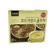 Nokcahwon Korean Premium Walnut Almond Adlay Tea