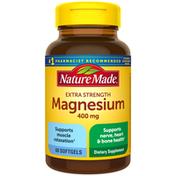 Nature Made Extra Strength Magnesium Oxide 400 mg Softgels