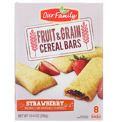 Our Family Strawberry Fruit & Grain Cereal Bars