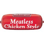 Worthington Meatless Chicken Style Vegetable & Grain Protein Roll