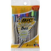 BiC Pen, Ball, Bold 1.6 mm, Assorted
