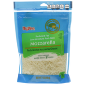 Hy-Vee Mozzarella Low-Moisture Part-Skim Reduced Fat Finely Shredded Cheese