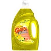 Gain Ultra Antibacterial Lemon Zest Dishwashing Liquid