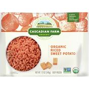 Cascadian Farm Organic Riced Sweet Potato, Premium Frozen Veg, Non-GMO