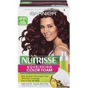 Nutrisse® 4RR Dark Intense Auburn Nourishing Color Foam
