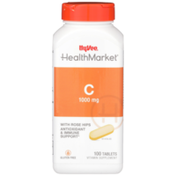 Hy-Vee Healthmarket, C 1000 Mg With Rose Hips Antioxidant & Immune Support Vitamin Supplement Tablets