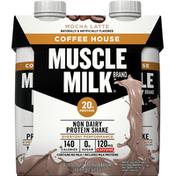 CytoSport Muscle Milk Protein Shake, Non Dairy, Mocha Latte, 4 Pack