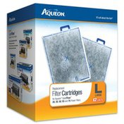 Aqueon Large Replacement Filter Cartridges for QuietFlow