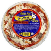 Oven Works Pizza, Sausage and Mushroom Pizza