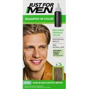 Just For Men Shampoo-In Color, Dark Blond/Lightest Brown H-15