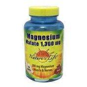 Nature's Life Magnesium Malate 1300 Mg