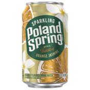 Poland spring Sparkling Water, Jasmine Orange