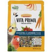 Sunseed Wholesome Nutrition Cockatiel & Lovebird Food