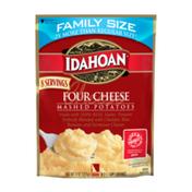Idahoan Four Cheese Mashed Potatoes Family Size