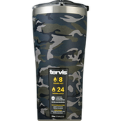Tervis Tumbler with Lid, Stainless Steel, Jungle Camo, 20 Ounce