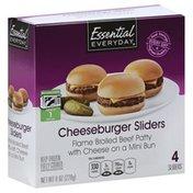Essential Everyday Sliders, Cheeseburger