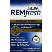 REMfresh Melatonin, Extra Strength, 5 mg, Nightly Caplets