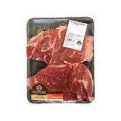 Double R Ranch USDA Choice Beef Boneless Chuck Cross Rib Steak