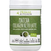 Primal Kitchen Drink Mix, Collagen Keto Latte, Matcha