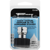 Forney Screw Coupler, 3/8 Inches