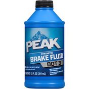 Peak Dot 3 Synthetic Brake Fluid