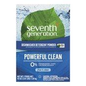 Seventh Generation Dishwasher Detergent Powder Fragrance Free