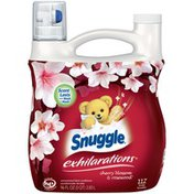 Snuggle Exhilarations Cherry Blossom & Rosewood Concentrated Liquid Fabric Conditioner