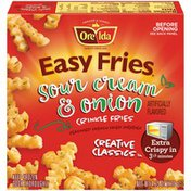 Ore-Ida Sour Cream & Onion Crinkle Fries