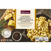 Taste of Inspirations Macaroni and Cheese, Gourmet Homestyle, White Cheddar & Pipette