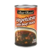 Best Choice Vegetable With Beef Stock Condensed Soup