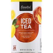 Essential Everyday Iced Tea Mix, Sugar Sweetened, Natural Lemon